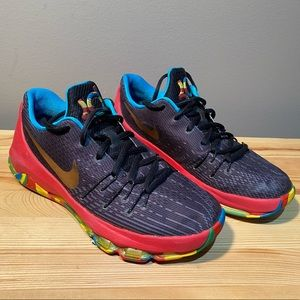 Nike KD 8 GS Money Ball Multicolour Kids Size 6Y